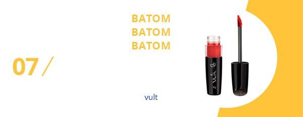 batom - vult - testado - aprovado - beleza