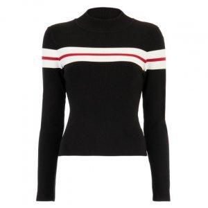 Suéter Listrado Manga Longa