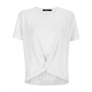 T-Shirt Malha Nó Frente