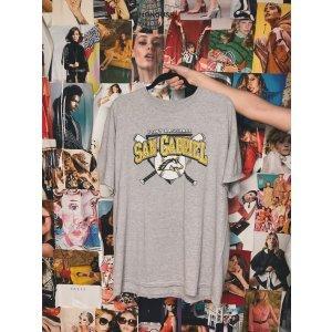 T-Shirt San Gabriel - G Cinza