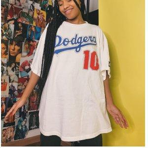 T-Shirt Dodgers - G Branco