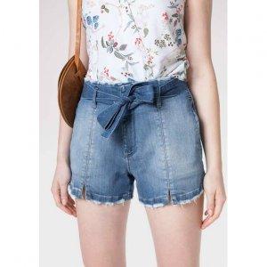 Shorts Jeans Clochard Com Fenda