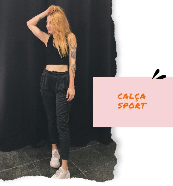Ali Santos - calça sport e top cropped - dia dos namorados - inverno - street style