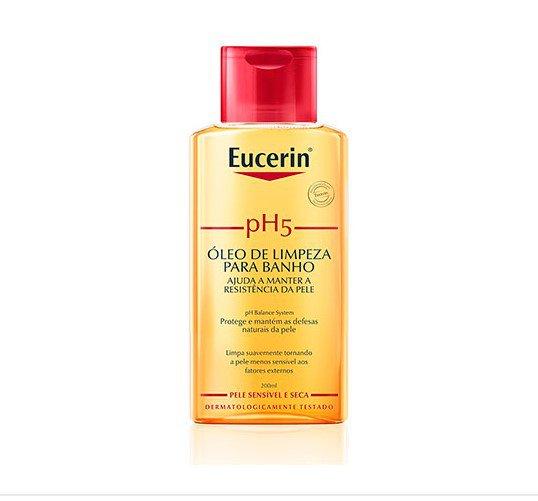 pH5 Eucerin Óleo de Limpeza para Banho Pele Sensível e Seca