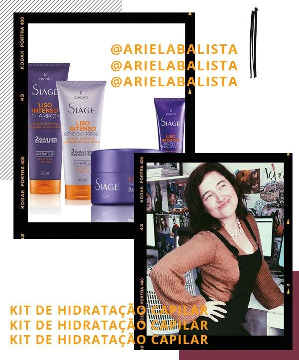 Ariela Balista - hidratante capilar - cabelos - inverno - recomendações