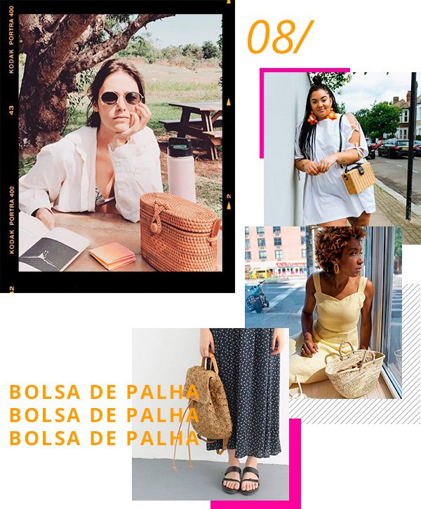 BOLSA - PALH - LOOKS - MODA - comprar