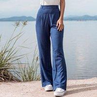 Calça Pantalona Blue - G Azul