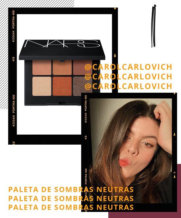 Carol Carlovich - paleta de sombras - maquiagem - inverno - recomendações