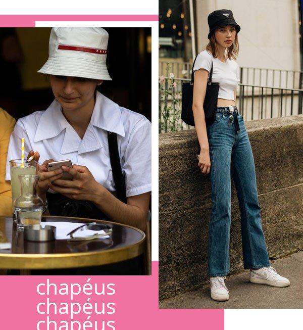 It girls - Chapeu - Chapeu - Inverno - Street Style