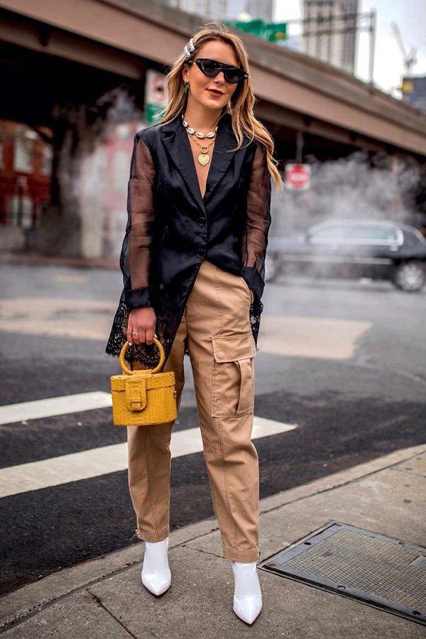 Christie Ferrari - calça cargo - calça cargo - inverno - street style