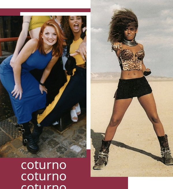 spice girls -      - coturno  -      -