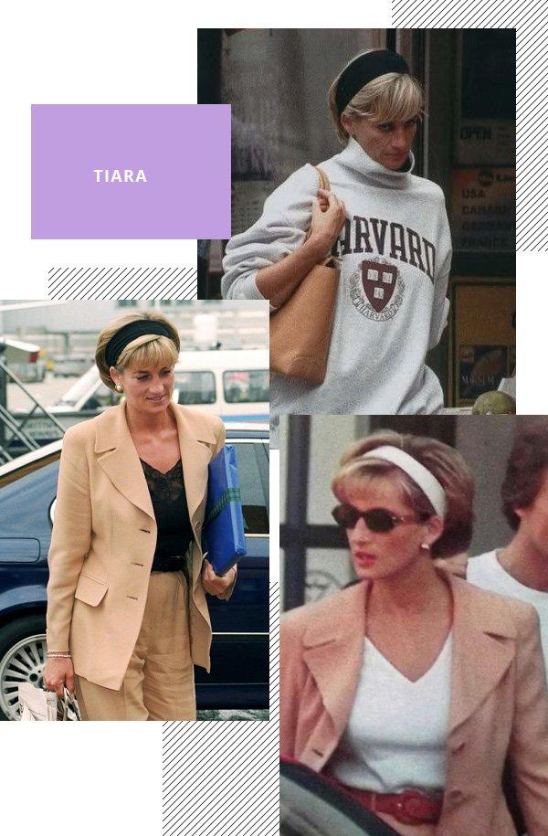 Lady Diana - faixa, tiara - tiara - inverno - street style