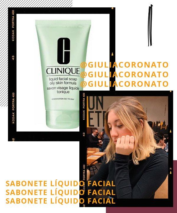 Giulia Coronato - gel de limpeza - skincare - inverno - recomendações