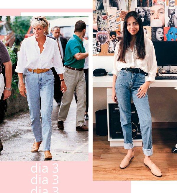 Lady Diana, Giovana Marçon - camisa-e-jeans - jeans - inverno - street-style