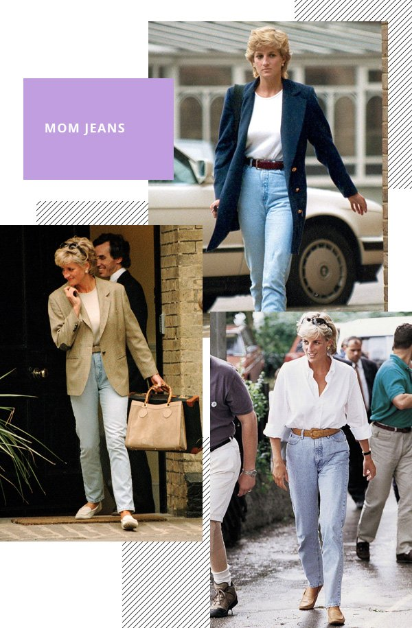 Lady Diana - mom jeans - mom jeans - inverno - street style
