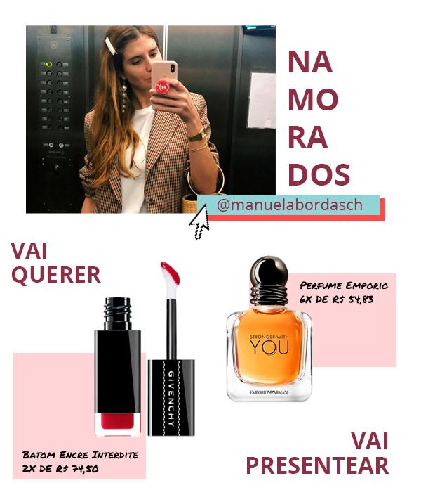 Manuela Bordasch - perfume - maquiagem - skincare - the beauty box