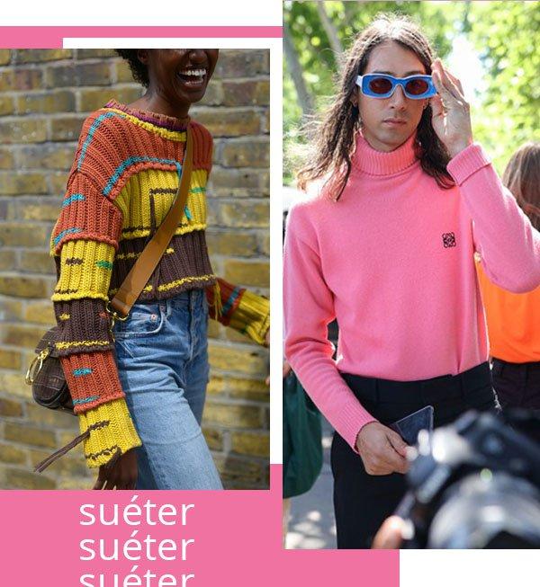 It girls - Suéter - Suéter - Inverno - Street Style