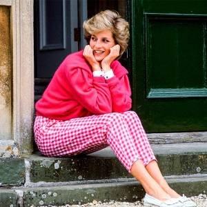 Me vesti como a princesa Diana por 6 dias