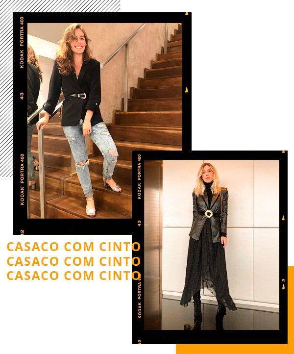 Isabella Aredes, Nati Vozza - blazer-cinto - cinto - inverno - street-style