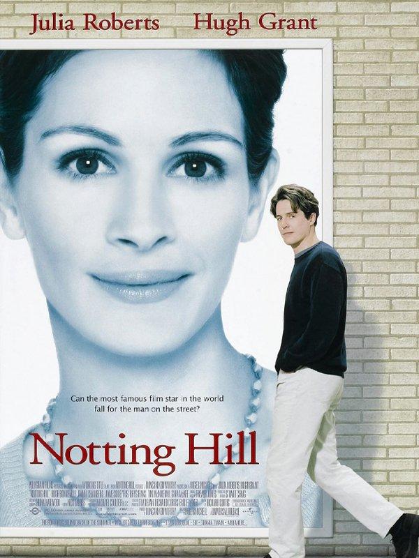 um lugar chamado notting hill - filme - netflix - dia dos namorados - recomendações