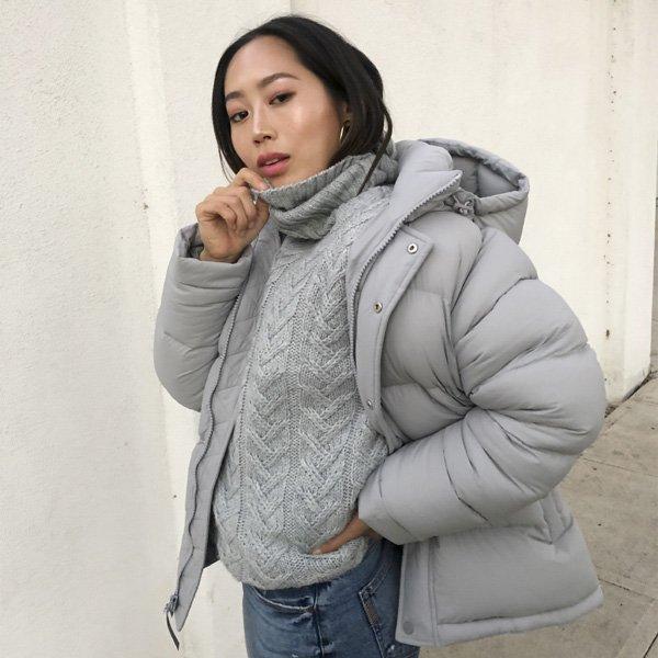 STEAL THE LOOK - puffer jacket - A jaqueta que vai te salvar do inverno merece um minuto da sua atenção