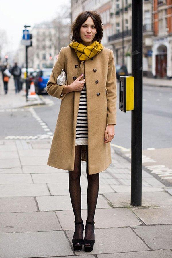 Alexa Chung -     -      - inverno - street style