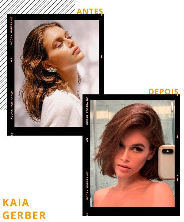 Kaia Gerber - cabelo - cabelos - inverno - street-style