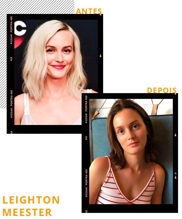 Leighton Meester - cabelo - cabelos - inverno - street-style
