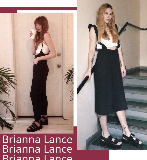 Brianna Lance, Ali Santos -      -      - inverno - street style