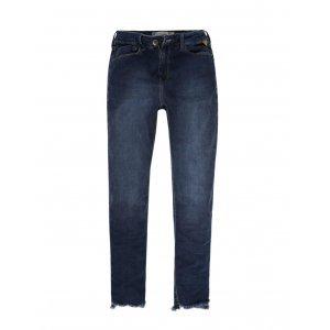 Calça Jeans Feminina Barra Desfiada