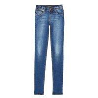 Calça Jeans Cintura Media Skinny