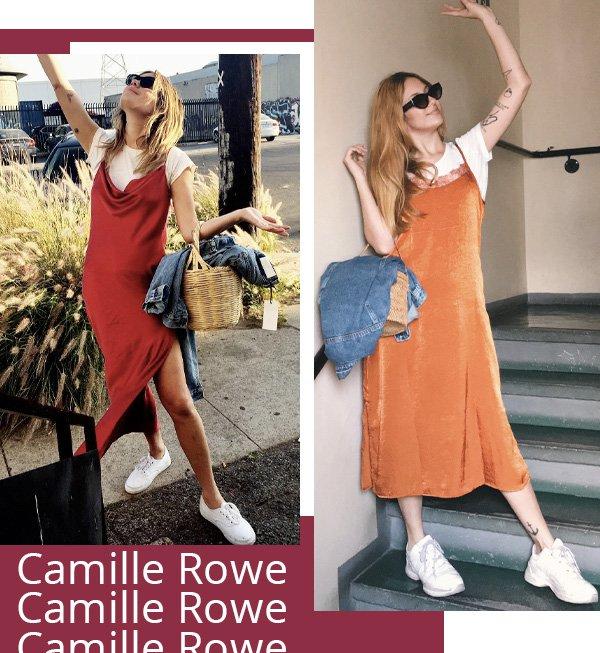 Camille Rowe, Ali Santos -      -       - inverno - street style