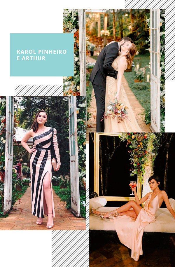 Karol Pinheiro, Lu Ferreira, Manu Gavassi - vestido - casamento - inverno - street-style