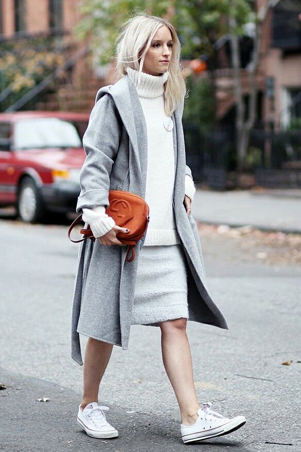 Charlotte Groeneveld - all star - all star converse - inverno - street style