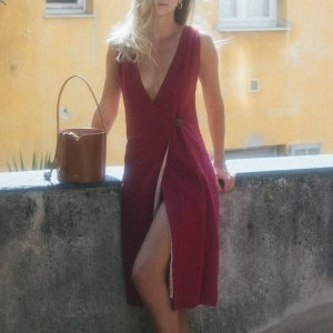 Vestdo Lilla Framboesa - M Vermelho