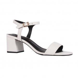 Sandália croco branco I19