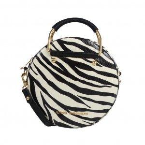Bolsa box (redonda) tiracolo zebra I19