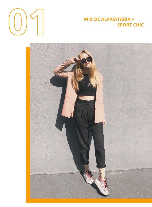 Ali Santos - blazer e calça de alfaiataria - calça de alfaiataria  - inverno - street style