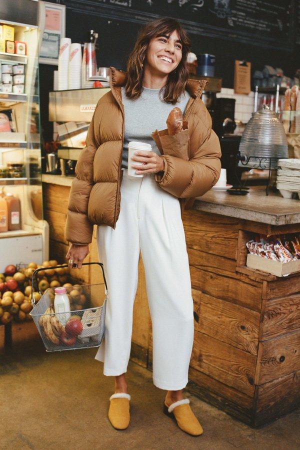 Mari Giudicelli - puffer jacket - puffer jacket - inverno - street style