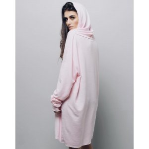 Moletom Over Universo Blush - U Rosa