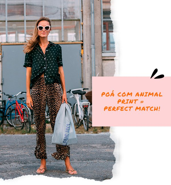 it-girl - poá-com-animal-print - poá - inverno - street-style