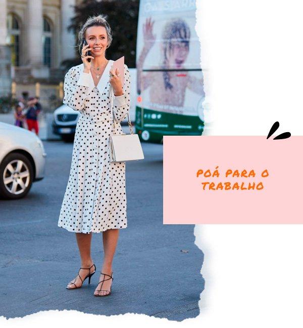 it-girl - vestido-poa - poá - inverno - street-style