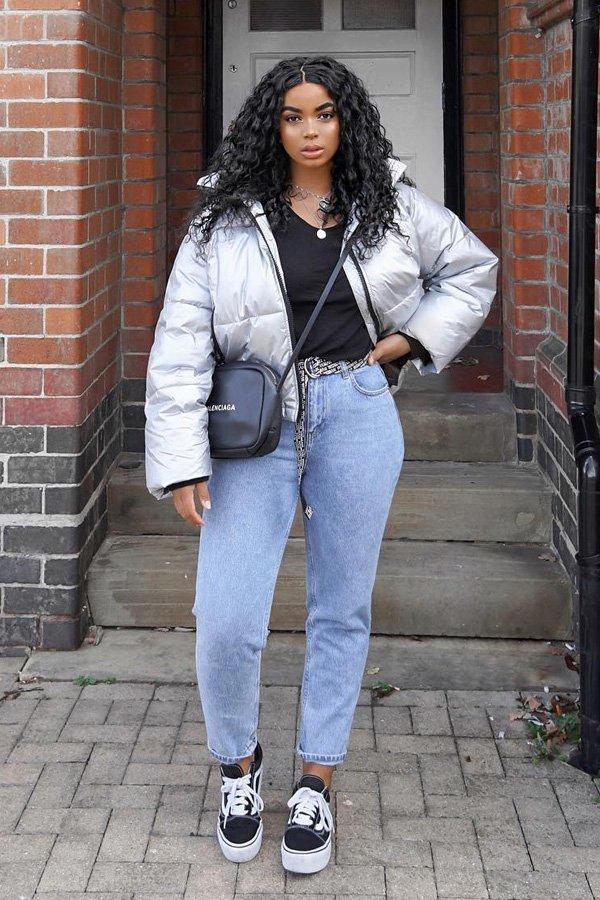 Vanessa D. - puffer jacket - jaqueta puffer - inverno - street style
