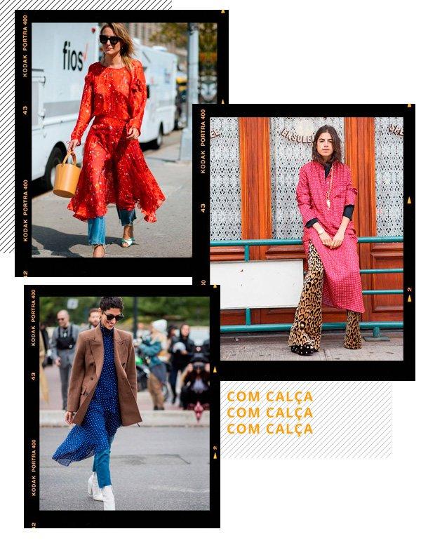 Leandra Medine - vestido-com-calça - vestidos - inverno - street-style