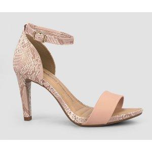 Sandália Dakota  Salto Fino Rosa