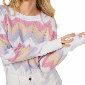 Suéter Mangas Longas Decote U