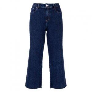 Calça Jeans Pantacourt Classic