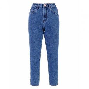 Calça Jeans Reta Leg Cropped
