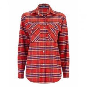 Camisa Oversized Xadrez Flanelada