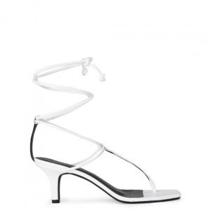 Sandália Salto Fino T-Bar